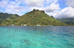 Lagune tropicale d'île Photos libres de droits