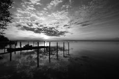Lagune van Bibione Royalty-vrije Stock Afbeeldingen