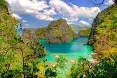 lagune verte photographie stock libre de droits