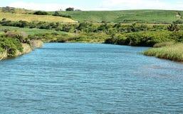 Lagune vom Meer lizenzfreies stockbild