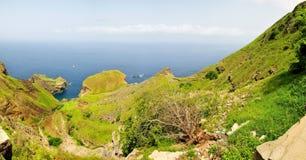 Lagune zwischen der Halbinsel Lizenzfreie Stockfotos