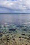 Lagunefarben Stockfotografie