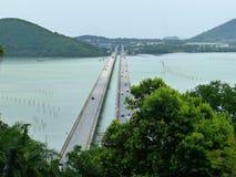 Lagunen-Brücke Lizenzfreie Stockbilder