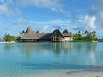 Lagunen-Franzosen Polinesia lizenzfreie stockfotos