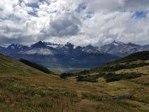 Lagunesmaragd - Ushuaia Royalty-vrije Stock Foto