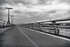 Lagymanyos bridge in Budapest.  Royalty Free Stock Photography