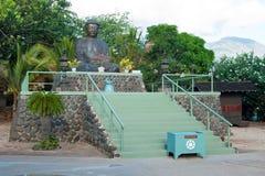 Lahaina在毛伊岛夏威夷的jodo使命 图库摄影