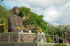 Lahaina在毛伊岛夏威夷的jodo使命 免版税图库摄影