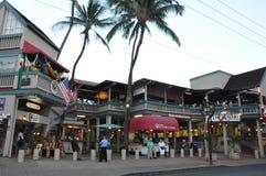 Lahaina Beachfront in Maui, Hawaii Stock Photography