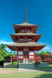 Lahaina jodo mission on Maui Island Hawaii Royalty Free Stock Photo