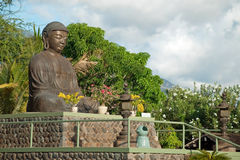 Lahaina jodo mission on Maui Island Hawaii Royalty Free Stock Photography
