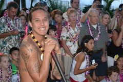Lahaina Luau Maui Stock Photography