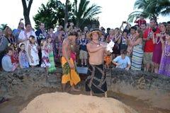 Lahaina Luau Maui Royalty Free Stock Photos