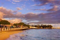 lahaina Maui της Χαβάης Στοκ Φωτογραφίες
