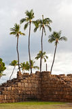 Lahaina, old fort wall Royalty Free Stock Images