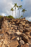 Lahaina, old fort wall Stock Photos