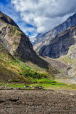 Lahaul valley, India Royalty Free Stock Photo