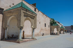 Lahdim Square of medieval imperial city of Meknes. Morocco. Stock Photo