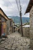 Lahic by i de Kaukasus bergen Royaltyfria Bilder