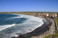 Lahinch beach scenery Royalty Free Stock Photo