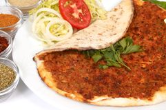 Lahmacun Stock Image