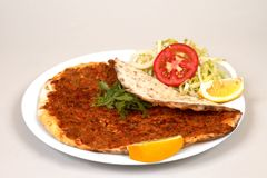 Lahmacun Images stock