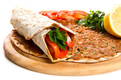 Lahmacun Photos stock