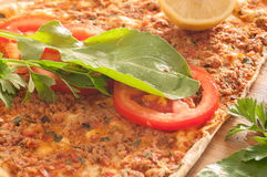 Lahmacun Immagine Stock