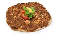 Lahmacun, turecka minced mięsna pizza Zdjęcia Royalty Free