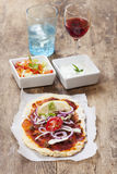 Lahmacun Royalty Free Stock Photography