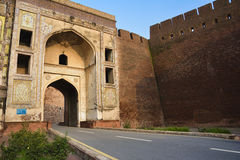 Lahore Fort – Shahi Qila. The Lahore Fort, locally referred to as the Shahi qila Urdu/Punjabi: شاہی قلعہ, Royal Fort, is a citadel in the city of Stock Photography