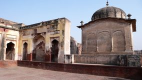 Lahore fort. Ancient buildings in lahore fort Royalty Free Stock Image