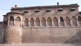 Lahore Fort. Outside wall of Lahore Fort Stock Photos