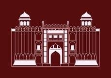Lahore fort Zdjęcie Stock