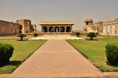 Lahore Fort building, Pakistan Stock Image