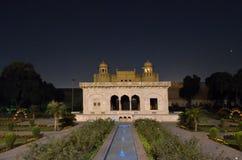 Lahore fort från den Badshahi moskén, Lahore, Punjab, Pakistan Royaltyfri Fotografi