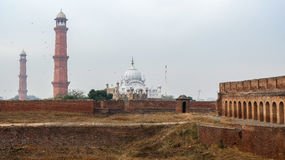 Lahore fort i Pakistan royaltyfria foton