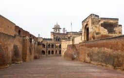 Lahore fort i Pakistan royaltyfri fotografi