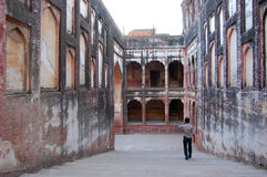 Lahore fort, Lahore, Pakistan Royaltyfria Bilder