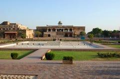 Lahore fort, Lahore, Pakistan Arkivbild