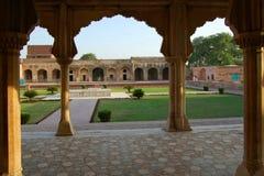Lahore fort, Lahore, Pakistan Arkivbilder