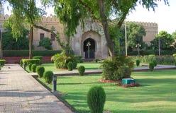 Lahore fort, Lahore, Pakistan Royaltyfri Bild