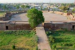 Lahore fort och gammal stad, Lahore, Pakistan Arkivbild