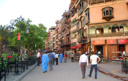 Lahore gammal stad, Lahore, Pakistan Arkivfoto