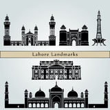 Lahore Landmarks Stock Photography