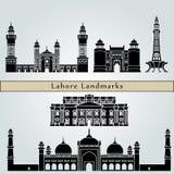 Lahore Landmarks Stock Photography