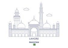 Lahore City Skyline, Pakistan Stock Photos