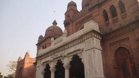 Lahore-Museum berühmt für Tourismus stock video