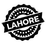 Lahore stamp rubber grunge Royalty Free Stock Photography