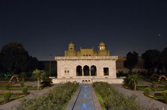 Lahorefort van Badshahi-Moskee, Lahore, Punjab, Pakistan royalty-vrije stock fotografie